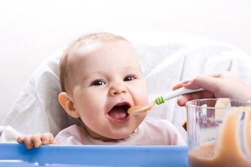 Gezonde recepten voor baby's van 9 tot 12 maanden: nieuwe texturen