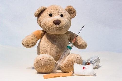 Pijn en ongemak als bijwerkingen van vaccinaties bij baby's