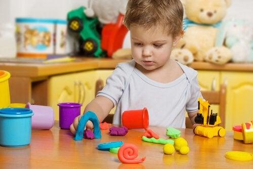 De voordelen van plasticine voor kinderen
