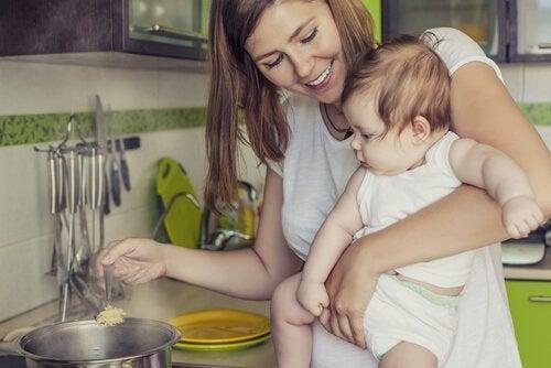 Wat te eten terwijl je borstvoeding geeft