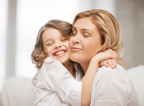 Goede manieren tussen moeder en dochter