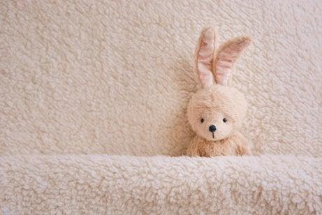 Het konijn dat in slaap wil vallen