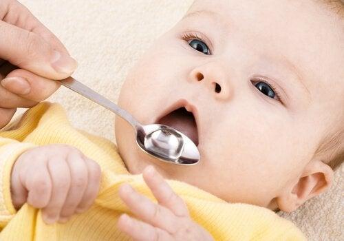 Griep bij baby's en voldoende drinken