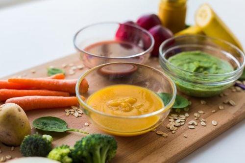 3 purees met veel eiwitten voor kinderen