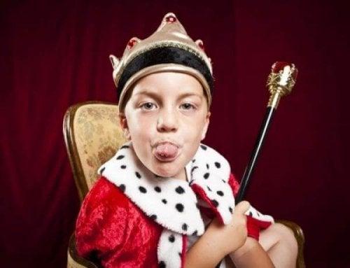Hoe herken je het kleine keizer syndroom bij kinderen