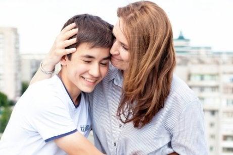 Persoonlijke groei is een van de voordelen van moeder zijn