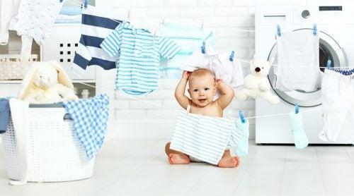 Tips voor het wassen van babykleding