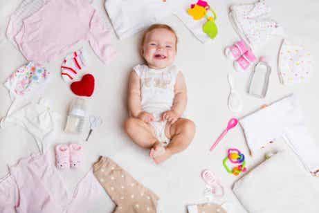 Zomerkleding voor pasgeboren baby's
