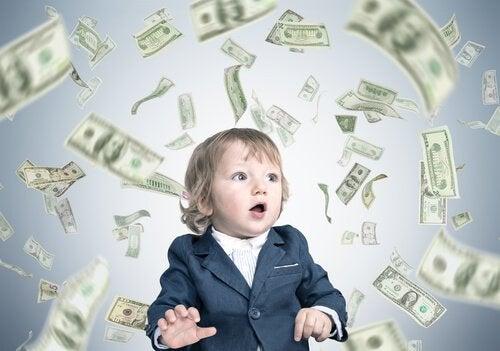 Wat is het syndroom van het rijkeluiskindje?