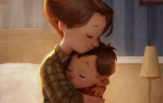 Liefde is de sleutel tot hersenontwikkeling bij kinderen