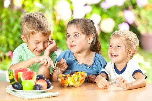 Tussendoortjes voor kinderen: fruit