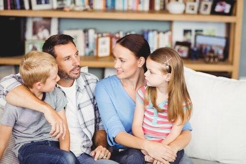 Nee zeggen: gezin in overleg