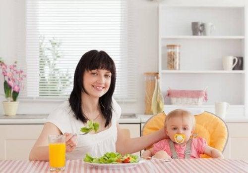 Eetpatroon en borstvoeding geven