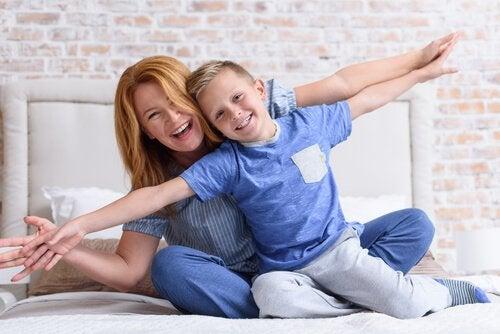 Leren loslaten is van groot belang voor een gelukkig moederschap