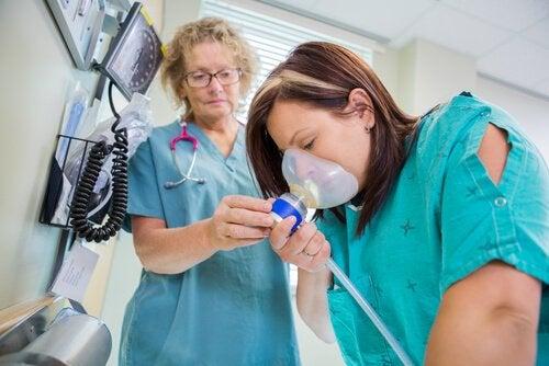 Distikstofoxide als pijnstiller voor de bevalling