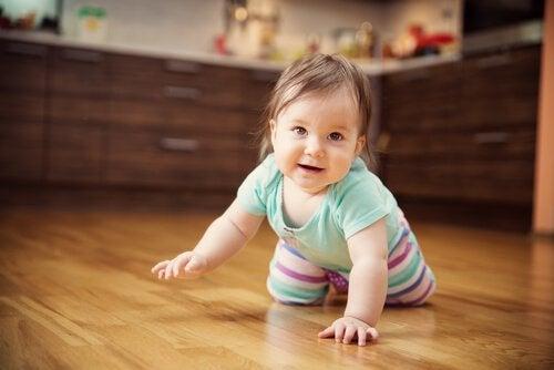 Zevende maand van het leven van je baby
