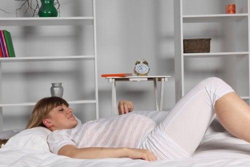 Het houden van bedrust tijdens de zwangerschap