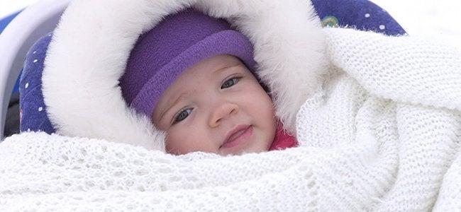 Je baby warm houden tijdens de koude winterdagen