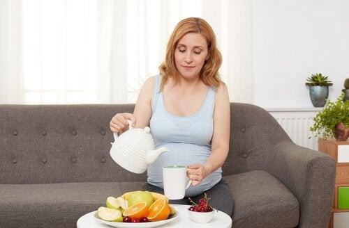 Veranderingen in de huid tijdens het tweede trimester van de zwangerschap