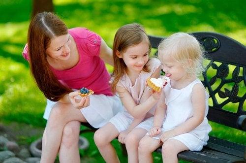 4 regels om je kinderen te leren delen