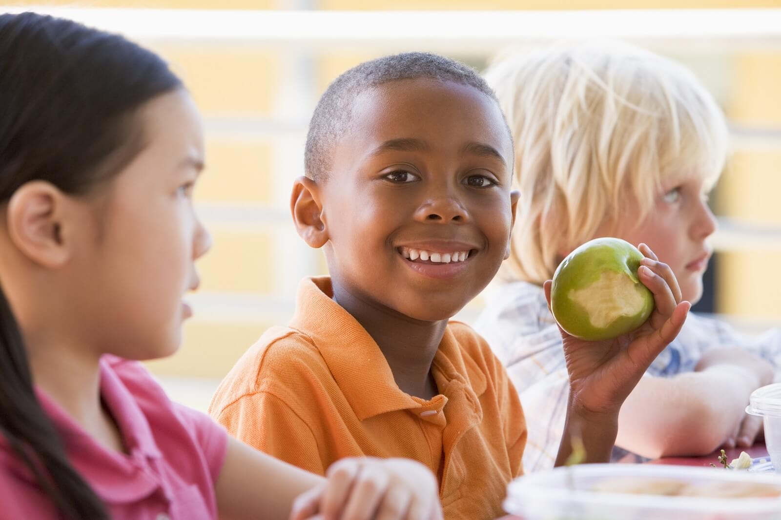 Dagelijks gezonde en lekkere snacks voor kinderen