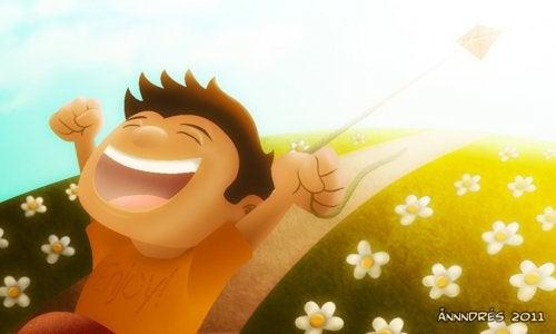 7 tips om je kinderen te leren gelukkig te zijn door positieve psychologie