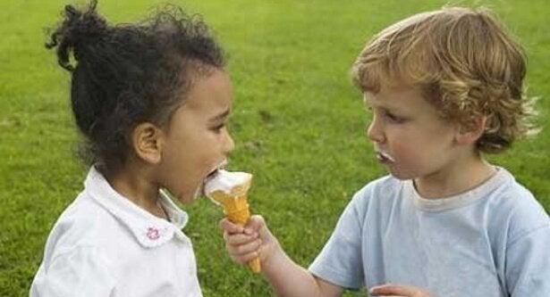 Een ijsje leren delen
