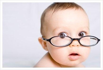 Baby's kunnen zien