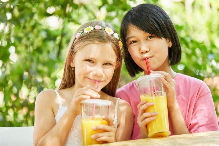 Vruchtensappen rijk aan vitaminen