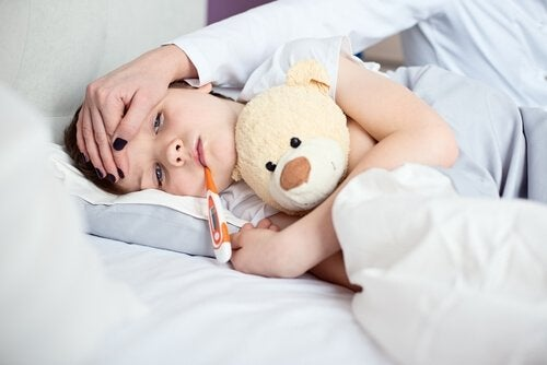 Een ziek kind