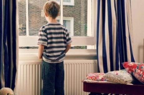 Kind met verlatingsangst