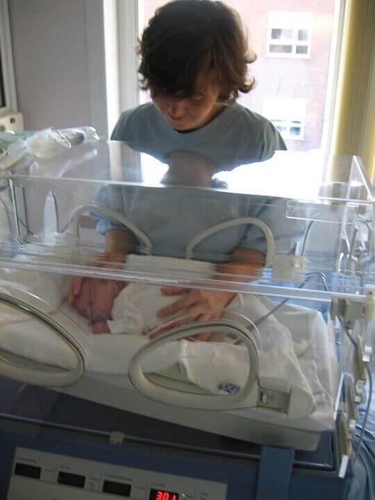 Klinische gegevens van normale baby's versus te vroeg geboren baby's