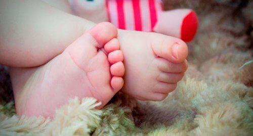 Liefde voor babyvoetjes