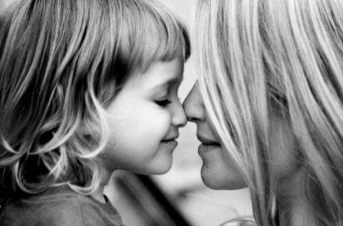 Moederliefde voor dochter