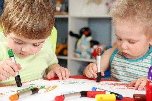 De tekeningen van kinderen en hun betekenis