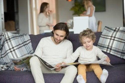 Het beste voorbeeld voor kinderen is wat ze thuis leren