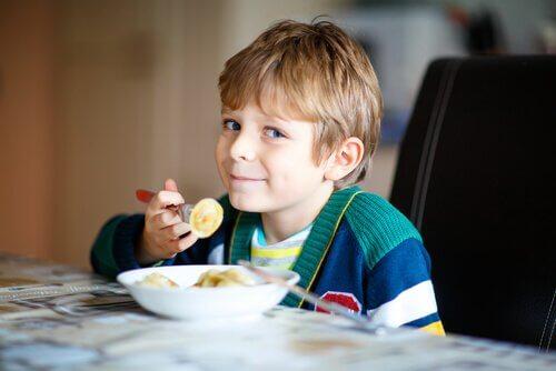 Het belang om vanaf een jonge leeftijd gezond te eten