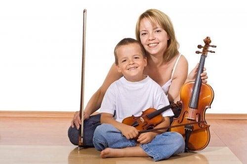 De voordelen van een muziekinstrument leren bespelen