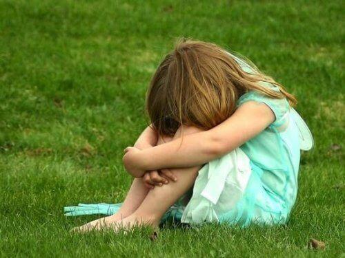 Kind met weinig zelfrespect