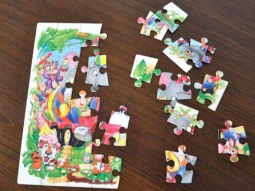 Logisch en praktisch denken door middel van een puzzel en lezen