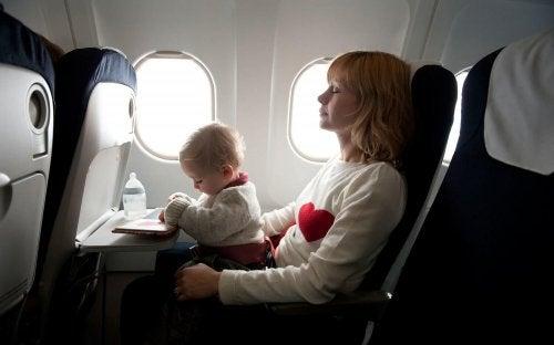 Reizen met het vliegtuig met je baby