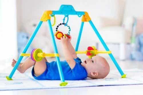 Babygyms en speeltuinen voor baby's