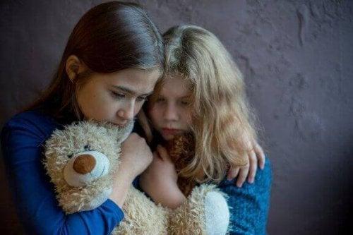 Het effect van huiselijk geweld op kinderen