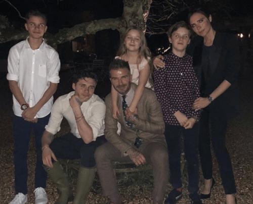 De familie Beckham