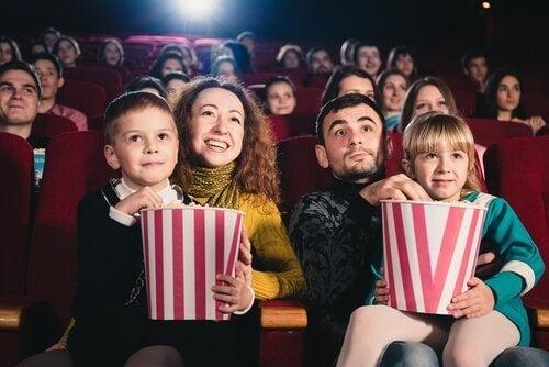 Quality time in de bioscoop met het gezin