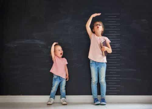 Op welke leeftijd stoppen meisjes met groeien?