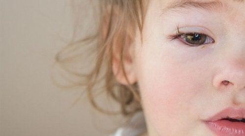 Het oog van een kind
