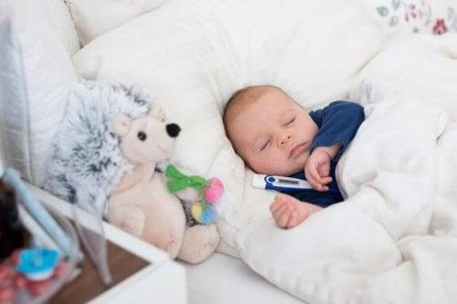 Trucjes om koorts te verlagen bij baby's