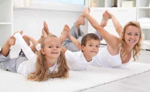 6 ideeën om te sporten met je kinderen
