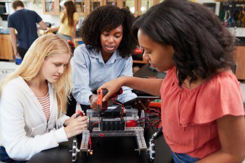 Vrouwen in de technologische sector